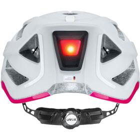 UVEX City Active Helmet papyrus/neon pink matt